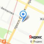 Идеальные брови на карте Санкт-Петербурга