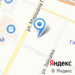 Одос на карте Санкт-Петербурга
