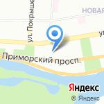 Университетский политехнический колледж на карте Санкт-Петербурга