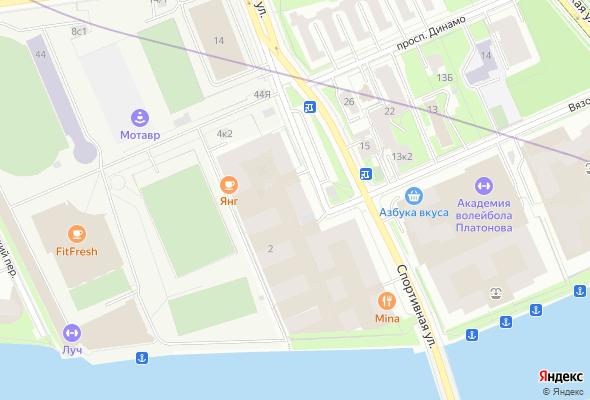 жилой комплекс Крестовский de luxe