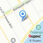Общественная приемная депутата Государственной Думы Ванчугова Р.А. на карте Санкт-Петербурга