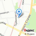 Жилкомсервис №2 Кировского района на карте Санкт-Петербурга