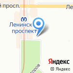 Манимо на карте Санкт-Петербурга