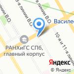 Garden Hotel на карте Санкт-Петербурга