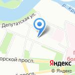 Объединенные ЭнергоСистемы на карте Санкт-Петербурга