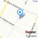 Хеликс на карте Санкт-Петербурга