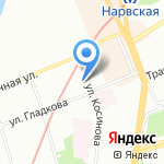 Стиль на карте Санкт-Петербурга