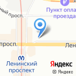 Profiline на карте Санкт-Петербурга