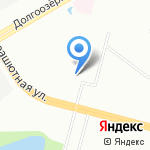 Bobr на карте Санкт-Петербурга