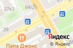Схема проезда до компании Райффайзенбанк в Санкт-Петербурге