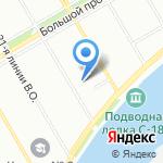 Гуманитарный колледж на карте Санкт-Петербурга