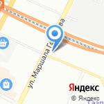 Альфа Стар на карте Санкт-Петербурга
