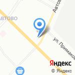 Почтовое отделение №152 на карте Санкт-Петербурга