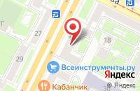 Схема проезда до компании Русич в Санкт-Петербурге