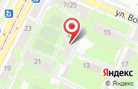 Схема проезда до компании Санги Стиль в Краснослободске