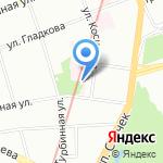 Хоспис на карте Санкт-Петербурга