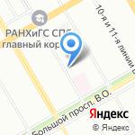 Первая инстанция на карте Санкт-Петербурга