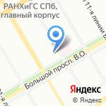 Центр Экономики Проектов на карте Санкт-Петербурга