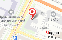 Схема проезда до компании Триботехника в Санкт-Петербурге
