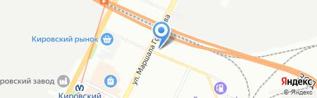 ИТАЛЮМ на карте Санкт-Петербурга
