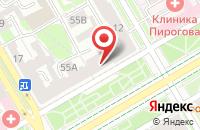 Схема проезда до компании Гиперион в Санкт-Петербурге