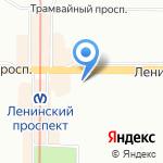 CARPET-SPB на карте Санкт-Петербурга