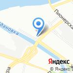 Патолого-анатомическое бюро Комитета по здравоохранению Ленинградской области на карте Санкт-Петербурга