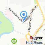 Бизнес-Отель на карте Санкт-Петербурга