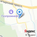 СДК КРИСТАЛЛ на карте Санкт-Петербурга