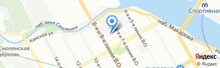 БМ-недвижимость на карте Санкт-Петербурга