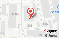Схема проезда до компании Росшоу в Санкт-Петербурге