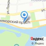 Нега на карте Санкт-Петербурга