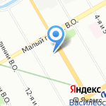 Batterion на карте Санкт-Петербурга