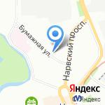 Паромный Брокер на карте Санкт-Петербурга