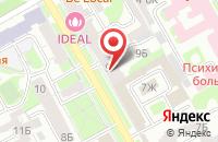 Схема проезда до компании Сиди-Мания в Санкт-Петербурге