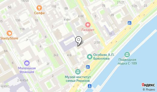 Такелажное Объединение. Схема проезда в Санкт-Петербурге