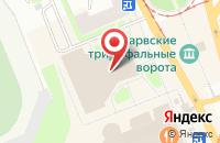 Схема проезда до компании Балтсервис в Санкт-Петербурге