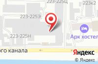 Схема проезда до компании Тандем в Санкт-Петербурге