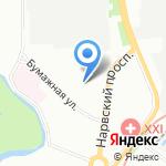 Пристань на карте Санкт-Петербурга