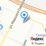 Мировые судьи Кировского района на карте Санкт-Петербурга
