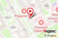 Схема проезда до компании Ника-Видео в Санкт-Петербурге