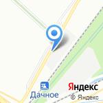 Дачное-1 на карте Санкт-Петербурга