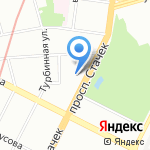 Selfie на карте Санкт-Петербурга