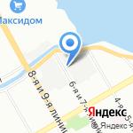 Аттик на карте Санкт-Петербурга