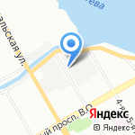 Олл-Пласт на карте Санкт-Петербурга