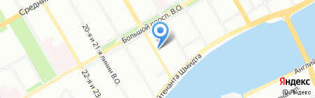 ИскРос на карте Санкт-Петербурга