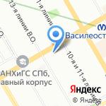 РЕСУРС на карте Санкт-Петербурга