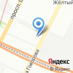 Управление Пенсионного фонда РФ в Кировском районе на карте Санкт-Петербурга