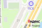 Схема проезда до компании Бельё моё в Санкт-Петербурге