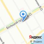 Производственно-эксплуатационное управление №8 на карте Санкт-Петербурга